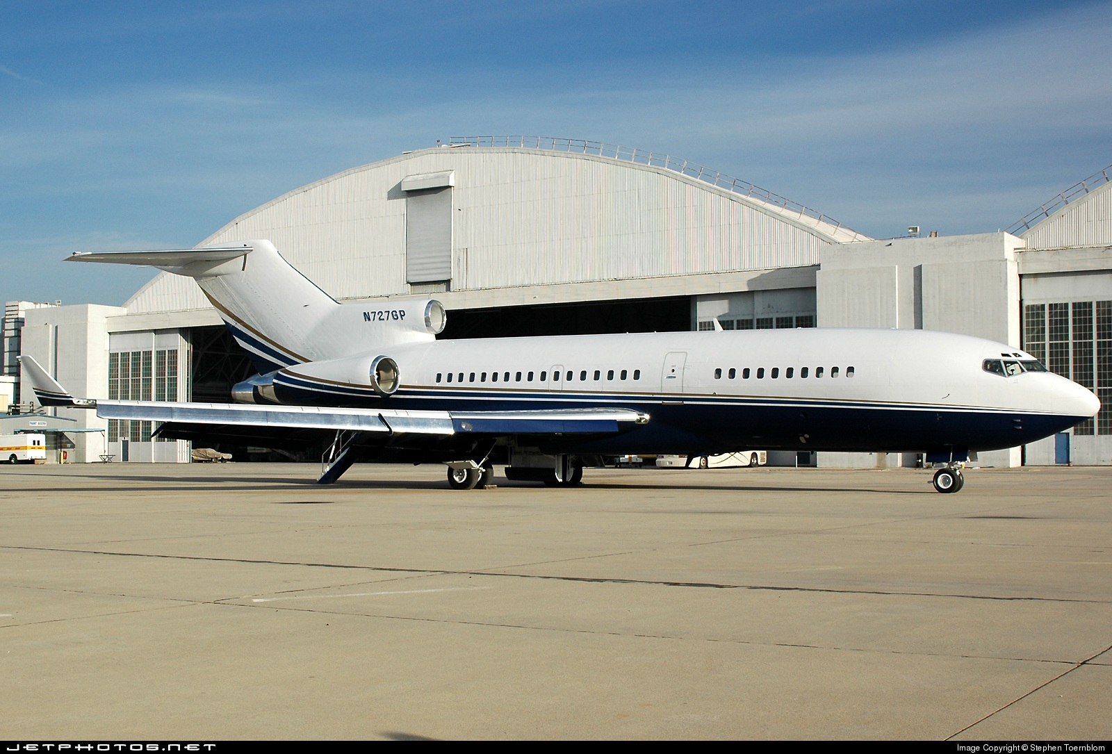 N727GP - Boeing 727-21 - Private