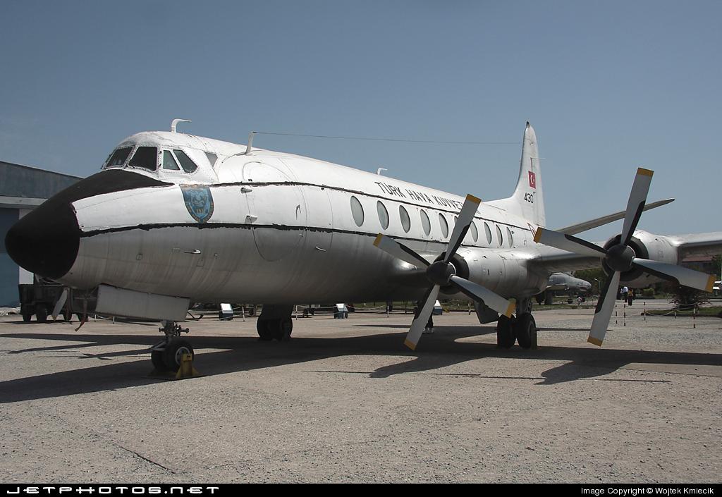 430 - Vickers Viscount 794D - Turkey - Air Force