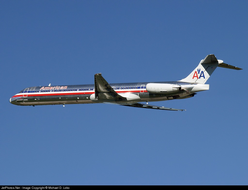 N597AA - McDonnell Douglas MD-83 - American Airlines