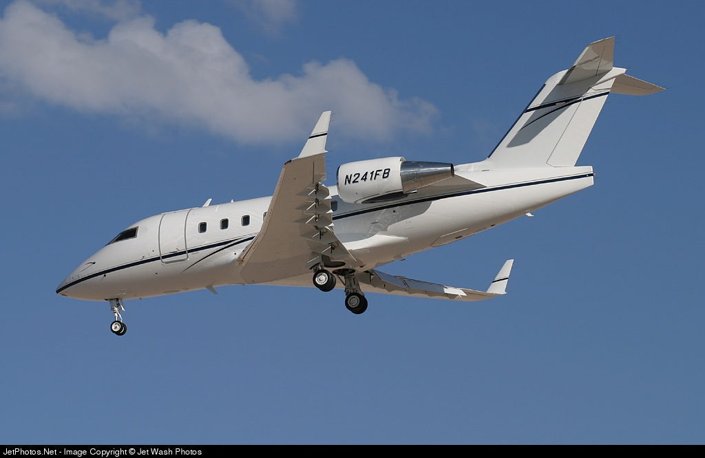 N241FB - Bombardier CL-600-2B16 Challenger 601-3A - Private