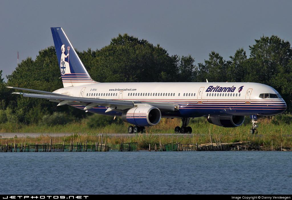 G-BYAI - Boeing 757-204 - Britannia Airways