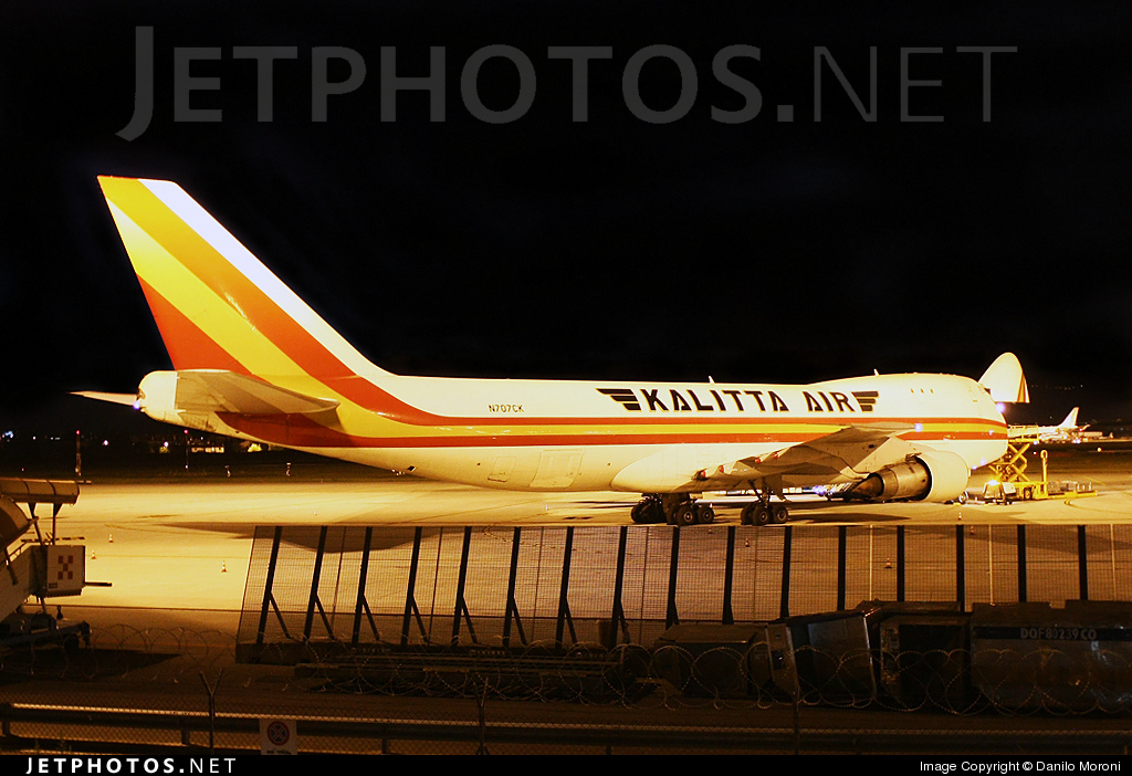 N707CK - Boeing 747-246F - Kalitta Air