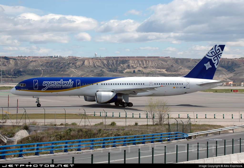 EC-JRT - Boeing 757-236 - Gadair European Airlines