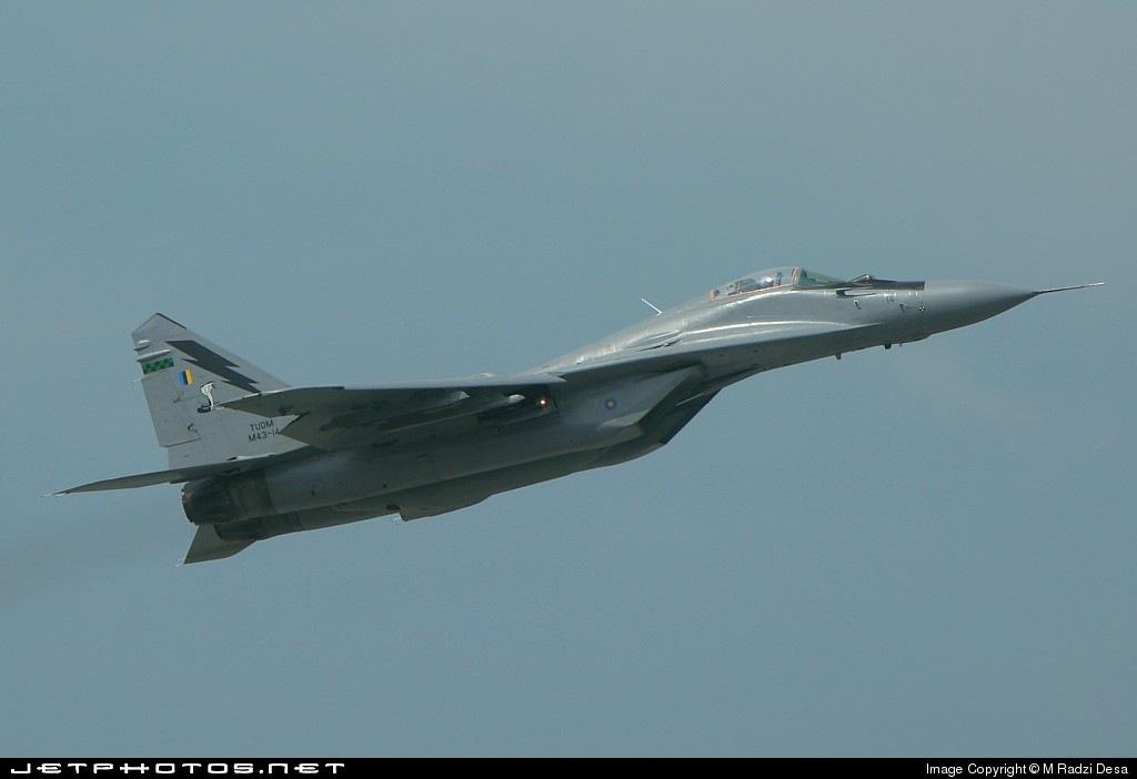 M43-14 - Mikoyan-Gurevich MiG-29 Fulcrum - Malaysia - Air Force