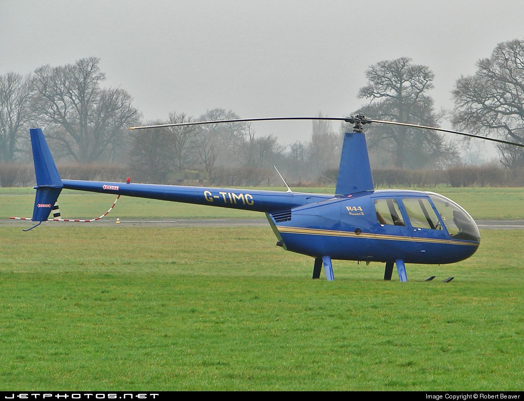 G-TIMC - Robinson R44 Raven II - Private