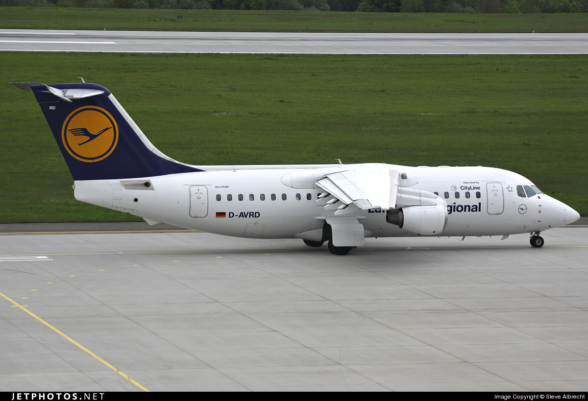 D-AVRD - British Aerospace Avro RJ85 - Lufthansa Regional (CityLine)