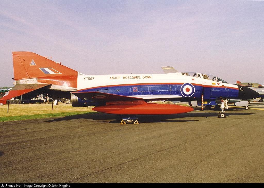 XT597 - McDonnell Douglas Phantom FGR.2 - United Kingdom - Royal Air Force (RAF)