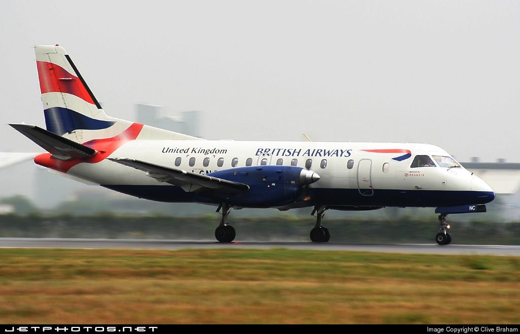 G-LGNC - Saab 340B - British Airways (Loganair)
