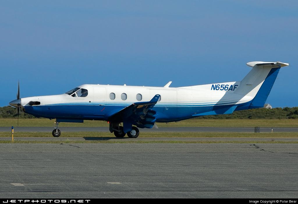 N656AF - Pilatus PC-12/45 - Private