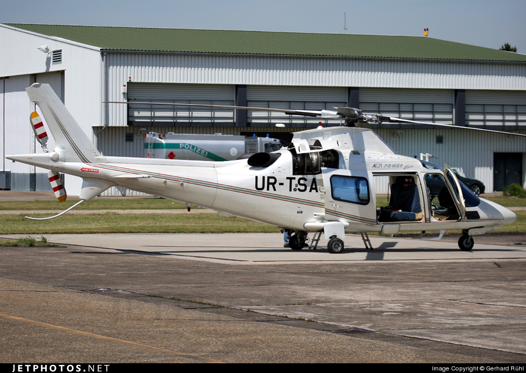 UR-TSA - Agusta A109 Power Elite - Private