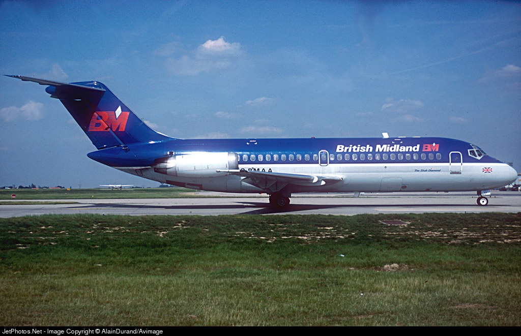 G-BMAA - McDonnell Douglas DC-9-15 - British Midland