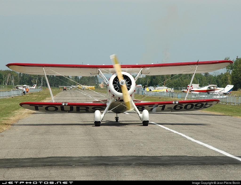 C-GYMF - Waco YMF-5 - Private