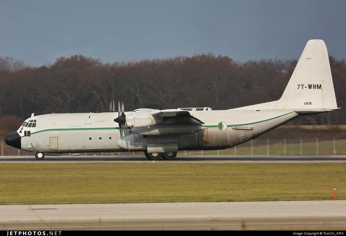 7T-WHM - Lockheed C-130H-30 Hercules - Algeria - Air Force