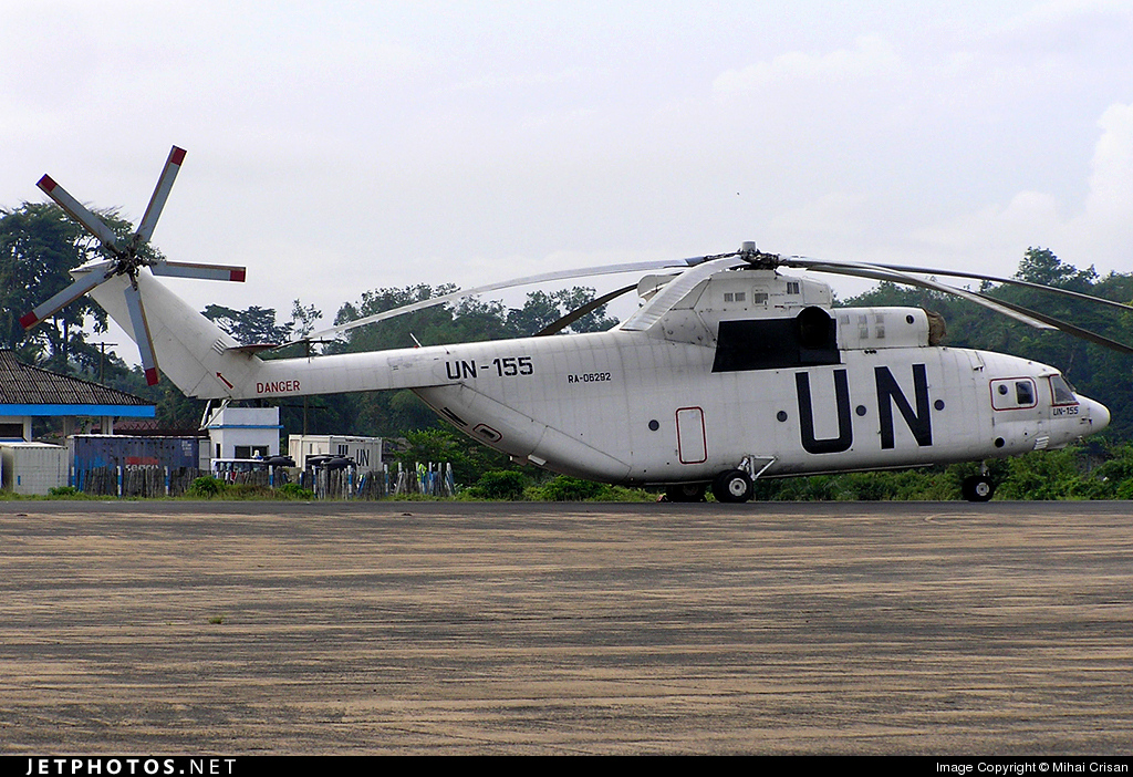 RA-06292 - Mil Mi-26 Halo - United Nations (UN)