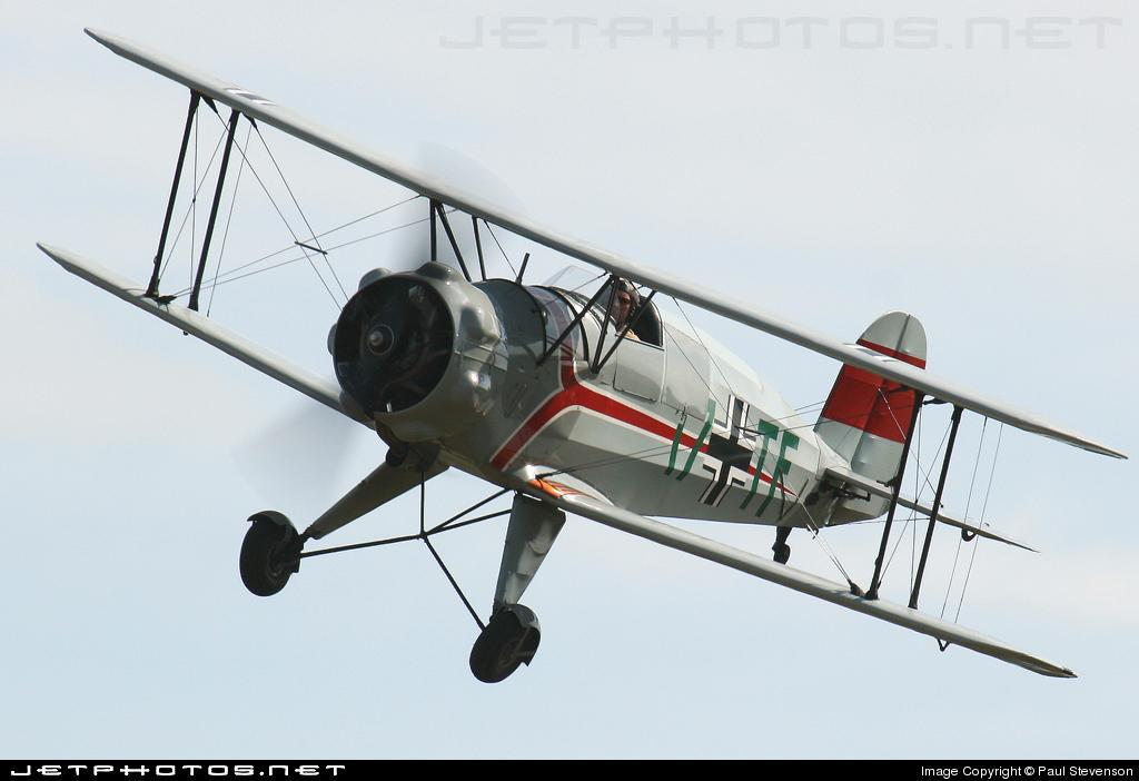 G-BZTJ - Bucker 133C Jungmeister - Private