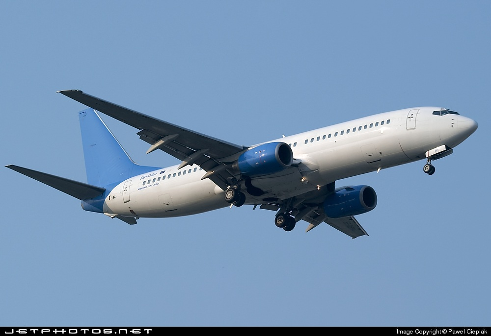 5B-DBH - Boeing 737-86N - Helios Airways