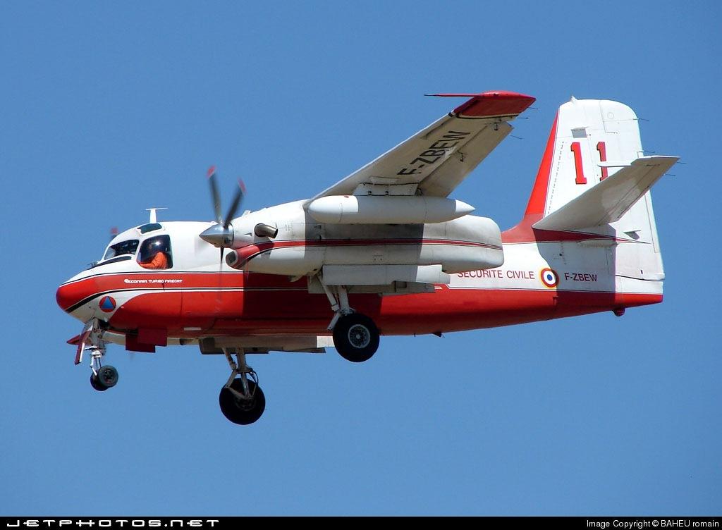 F-ZBEW - Conair S-2 Turbo Firecat - France - SécuritéCivile