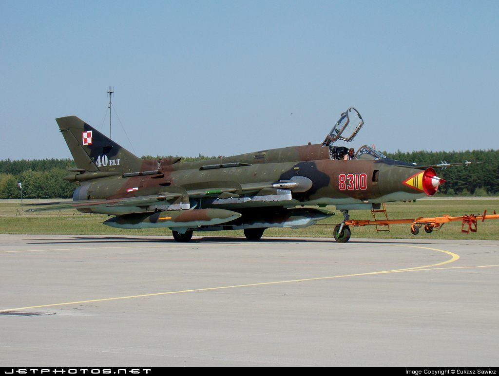 8310 - Sukhoi Su-22M4 Fitter K - Poland - Air Force