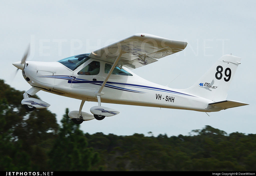 VH-SHH - Tecnam P92 Eaglet Light Sport - Tecnam Australia