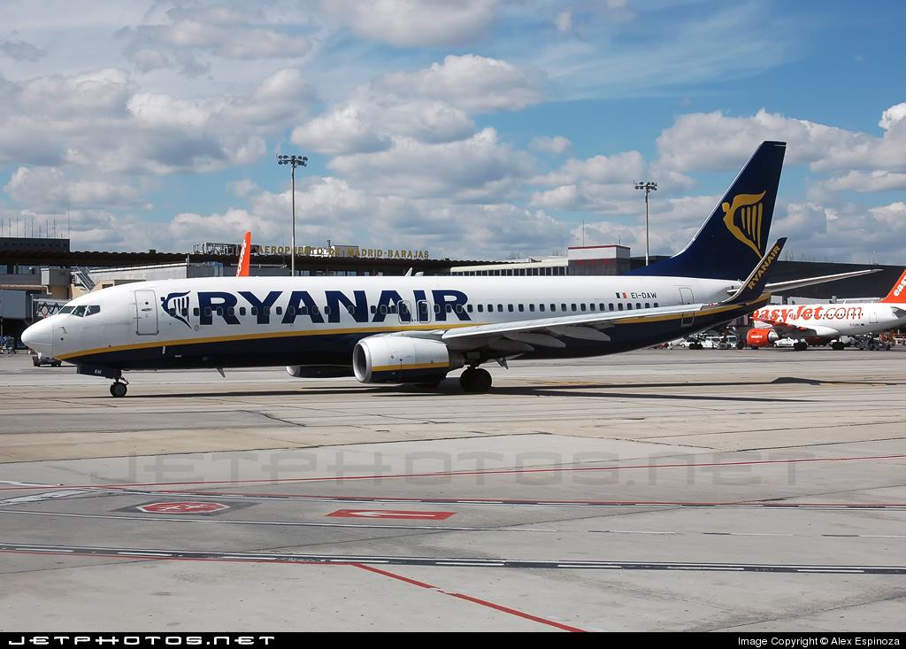 EI-DAW - Boeing 737-8AS - Ryanair