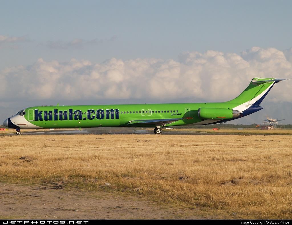 ZS-OBF - McDonnell Douglas MD-82 - Kulula.com