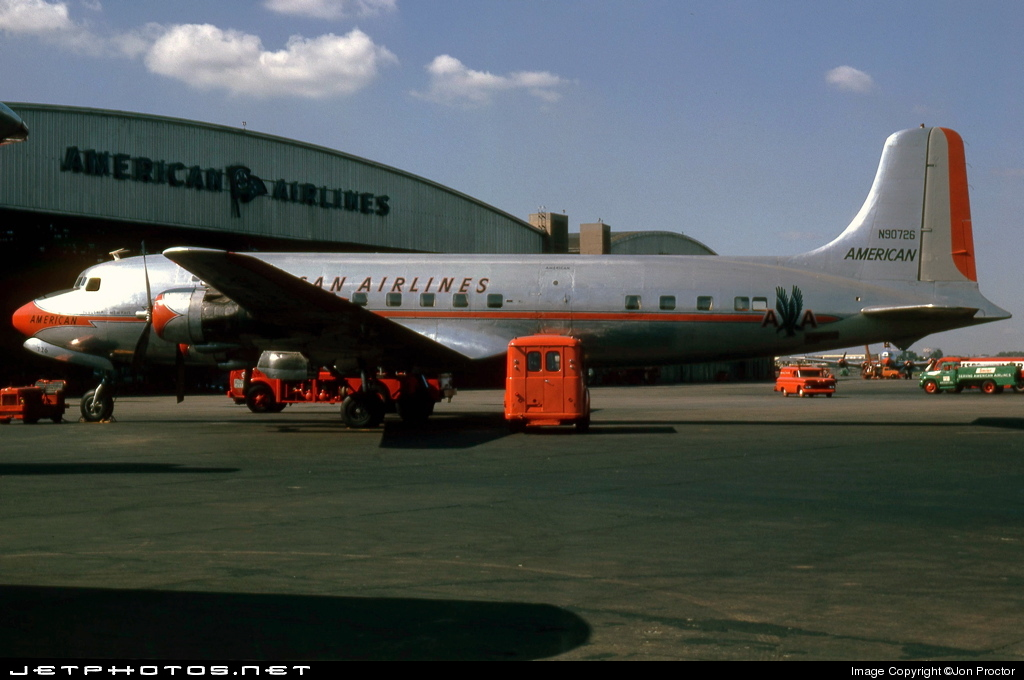 N90726 - Douglas DC-6 - American Airlines