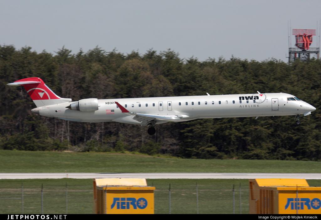 N932XJ - Bombardier CRJ-900ER - Northwest Airlink (Mesaba Airlines)