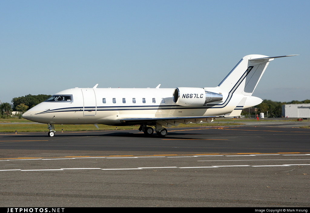 N667LC - Bombardier CL-600-2B16 Challenger 605 - Private