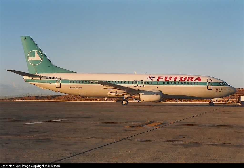 LX-LGG - Boeing 737-4C9 - Futura International Airways (Luxair - Luxembourg Airlines)