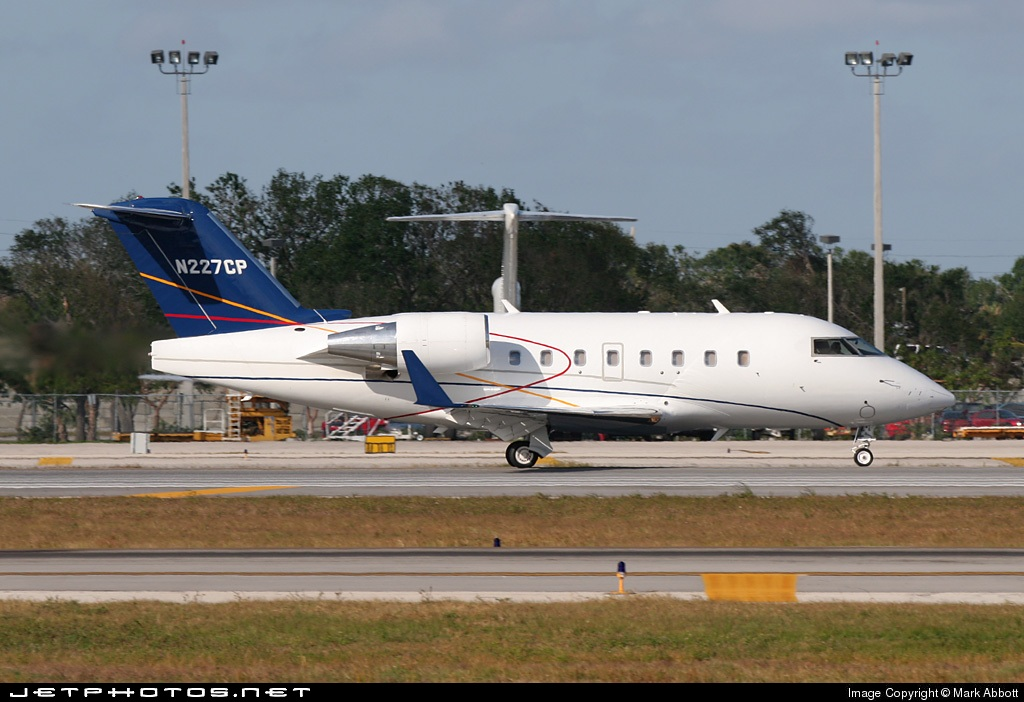 N227CP - Bombardier CL-600-2B16 Challenger 604 - Private
