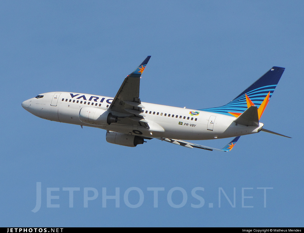 PR-VBY - Boeing 737-73A - Varig