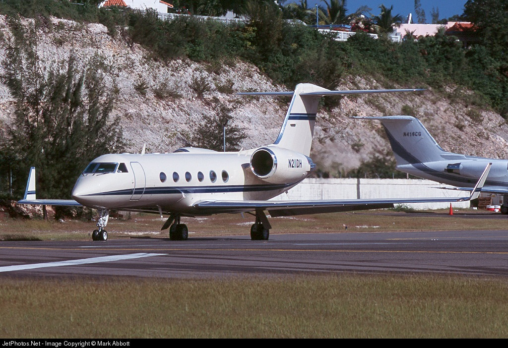 N211DH - Gulfstream G-IV(SP) - Private