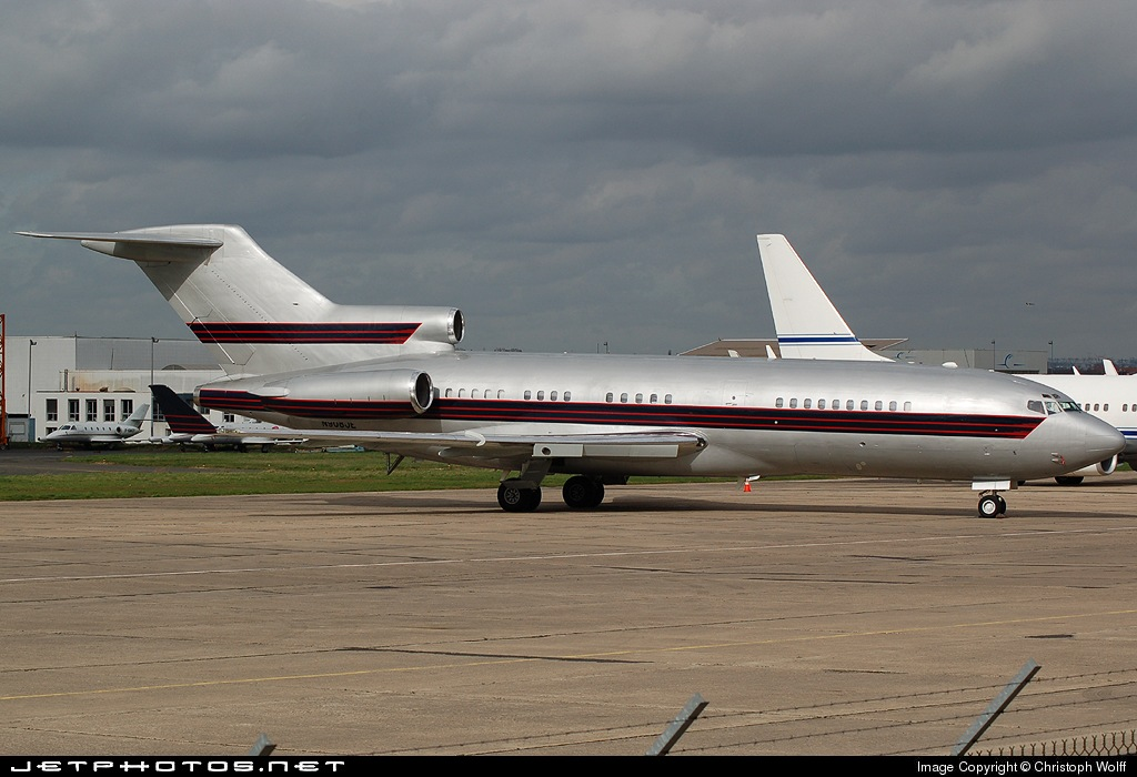 N908JE - Boeing 727-31 - Private