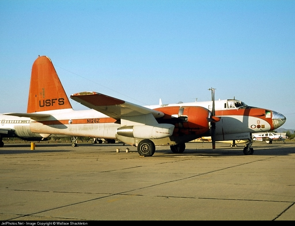 N126Z - Lockheed P-2E Neptune - Evergreen Helicopters