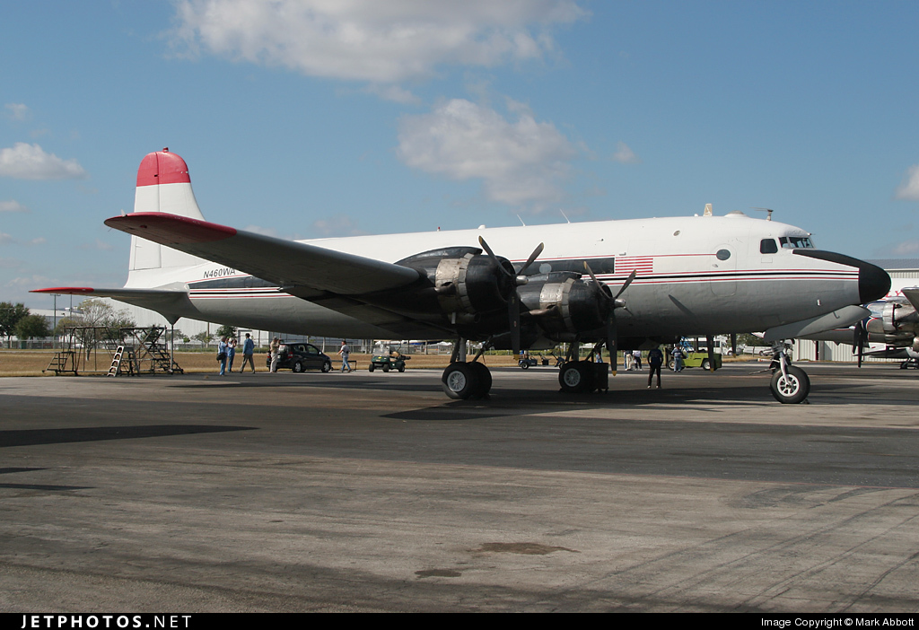 N460WA - Douglas DC-4 - Florida Air Transport