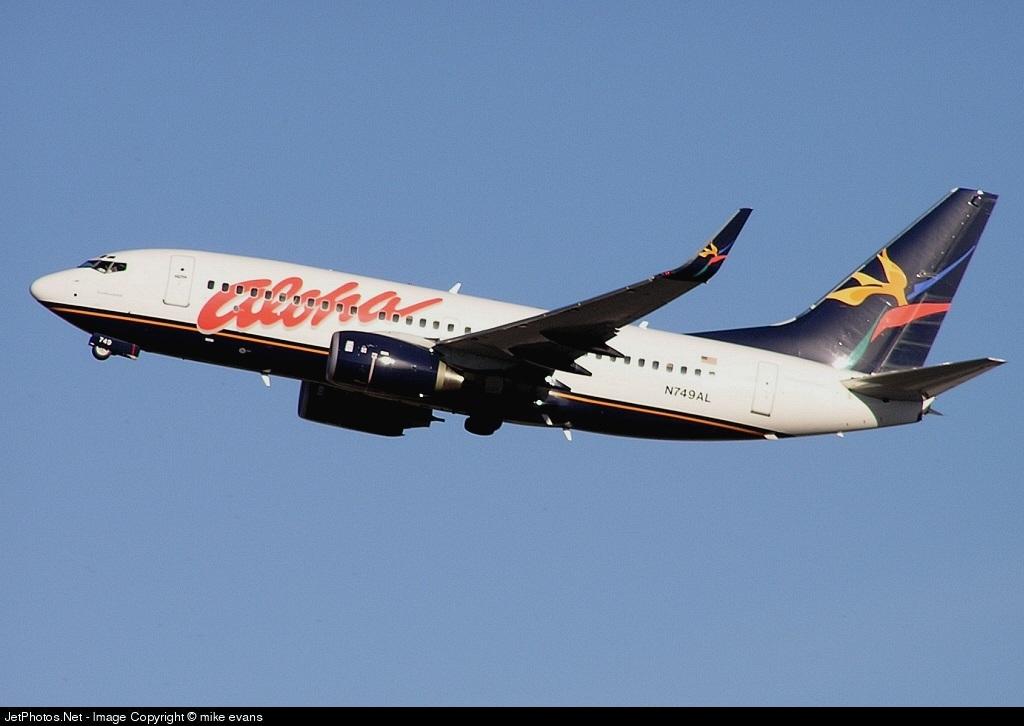 N749AL - Boeing 737-76N - Aloha Airlines