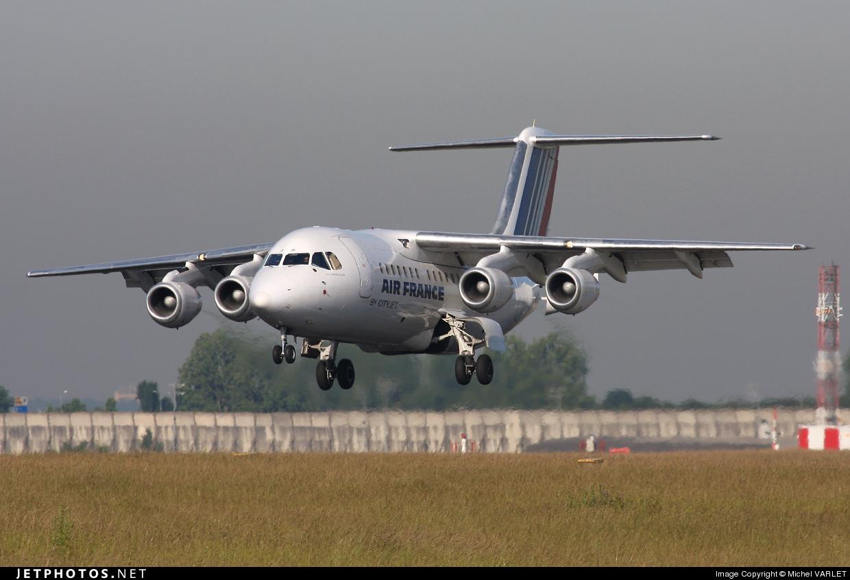 EI-RJK - British Aerospace Avro RJ85 - Air France (CityJet)