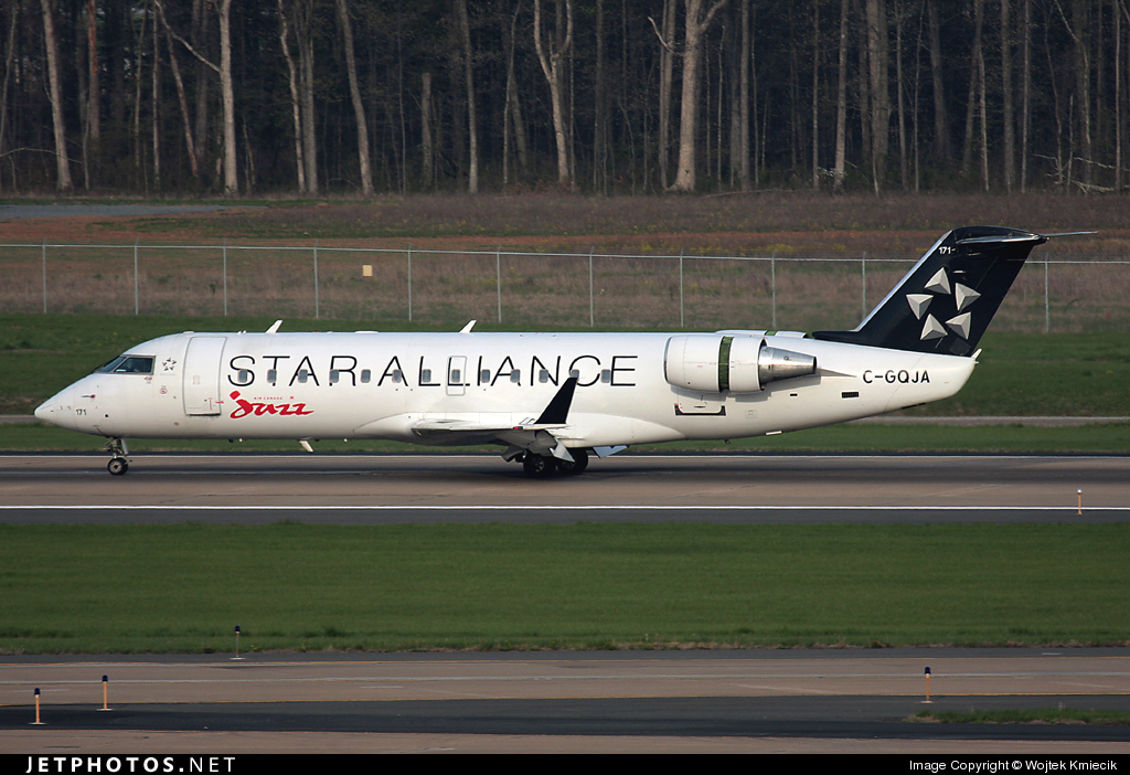 C-GQJA - Bombardier CRJ-200ER - Air Canada Jazz