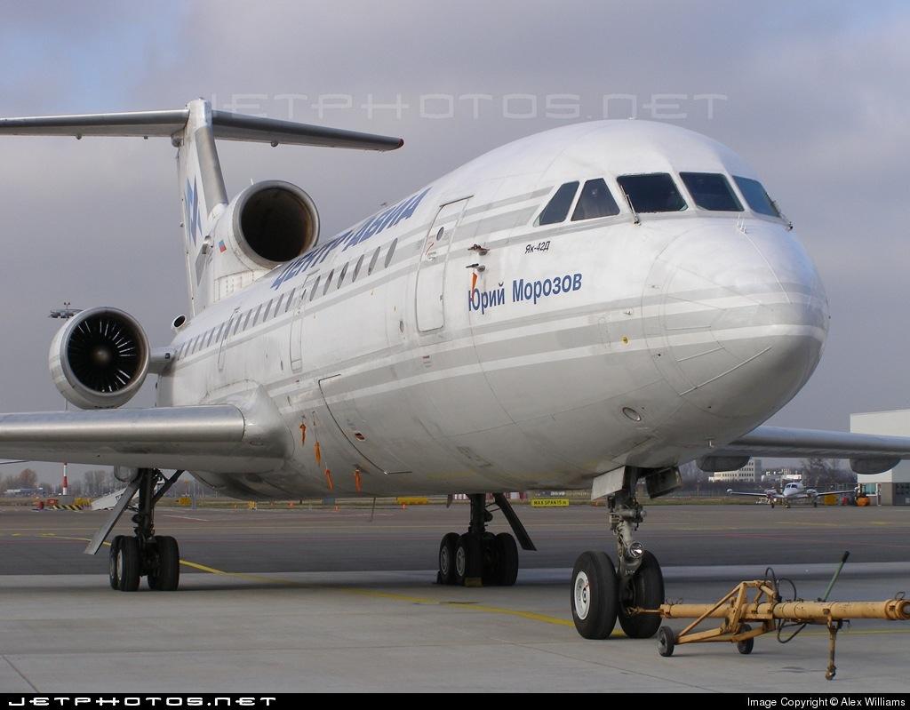 RA-42385 - Yakovlev Yak-42D - Centre-Avia