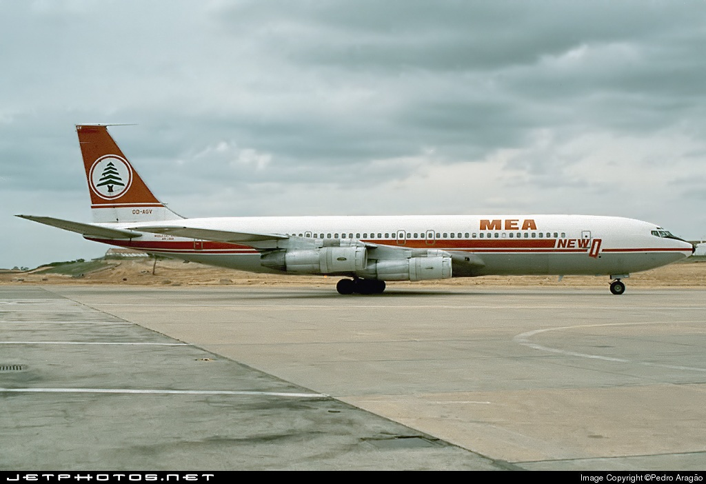 OD-AGV - Boeing 707-347C - Middle East Airlines (MEA)