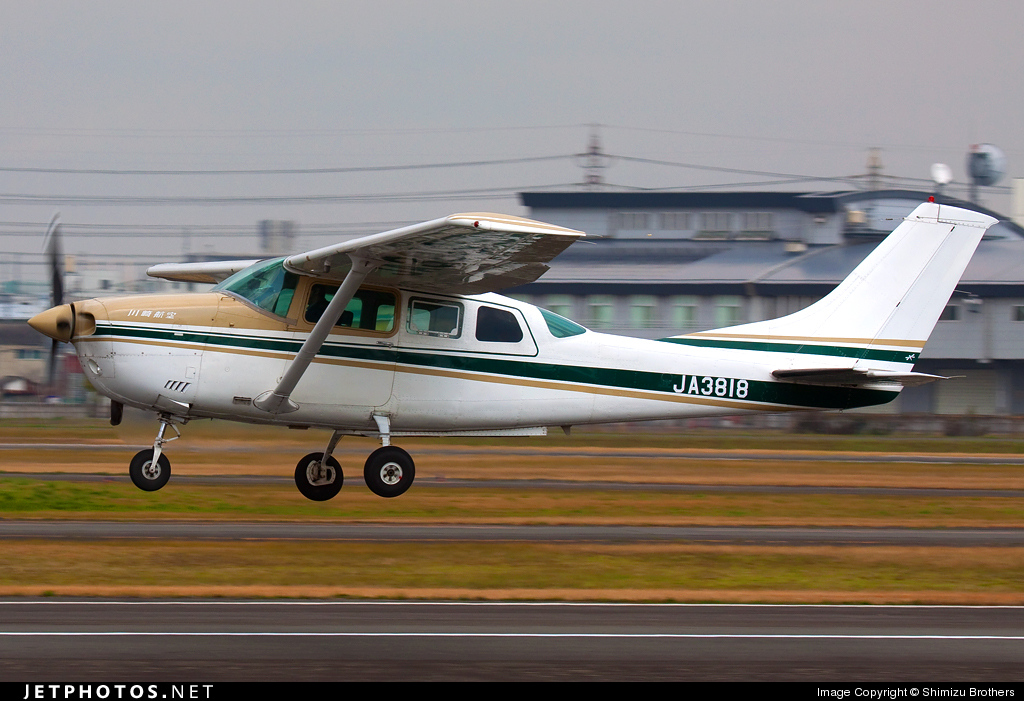 JA3818 - Cessna TU206G Turbo Stationair - Kawasaki Aviation