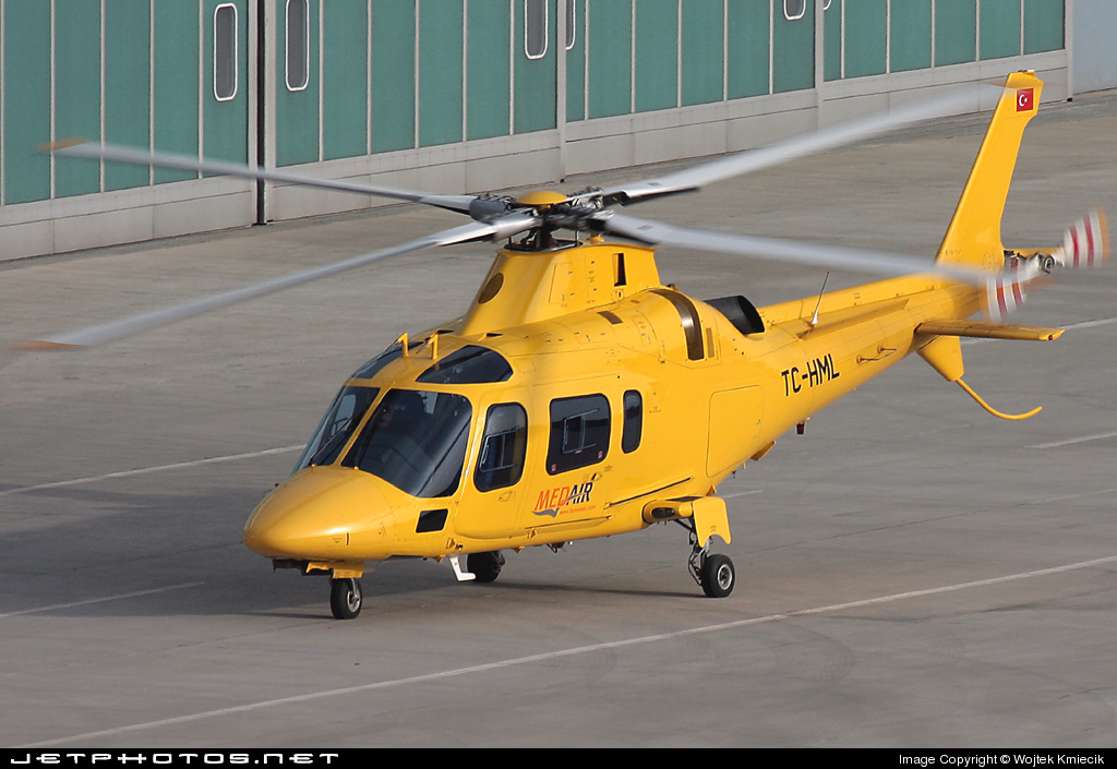 TC-HML - Agusta A109E Power - Med Air