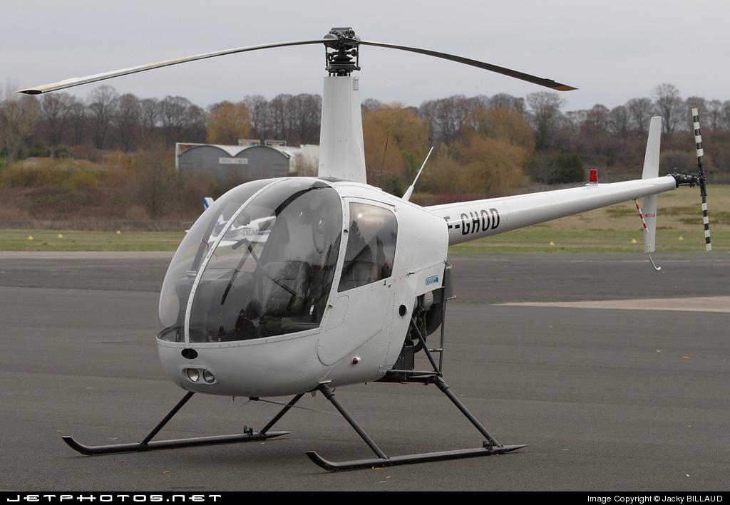 F-GHOD - Robinson R22 Beta - Private