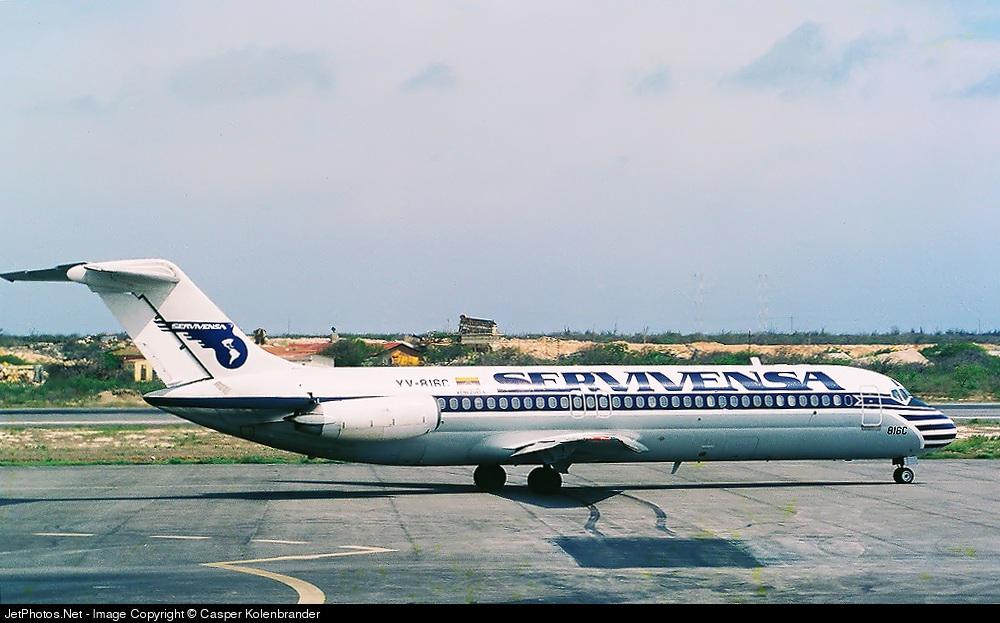 YV-816C - McDonnell Douglas DC-9-31 - Servivensa