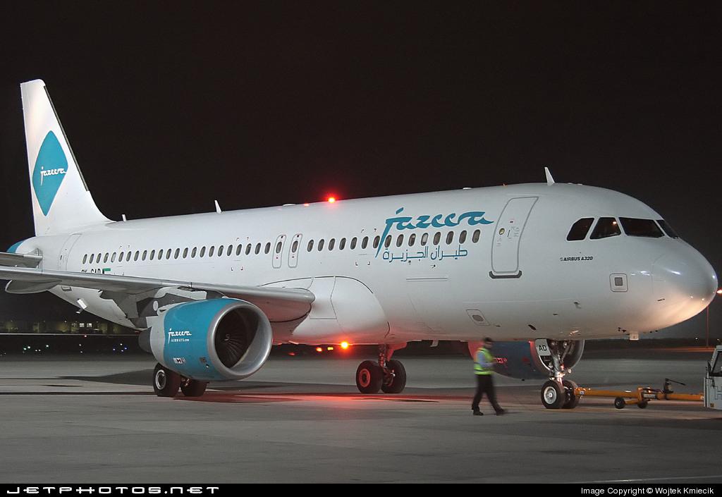 9K-CAD - Airbus A320-214 - Jazeera Airways