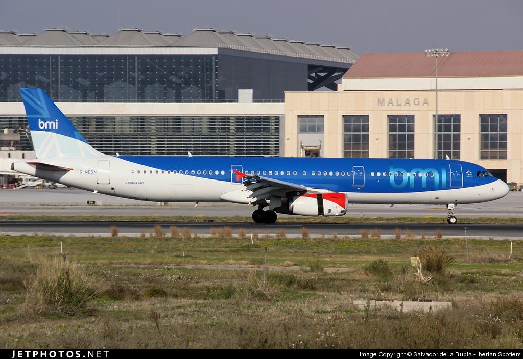 G-MEDN - Airbus A321-231 - bmi British Midland International