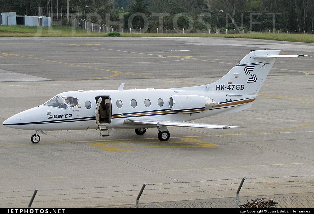 HK-4756 - Beechcraft 400A Beechjet - Searca - Servicio Aéreo de Capurgana