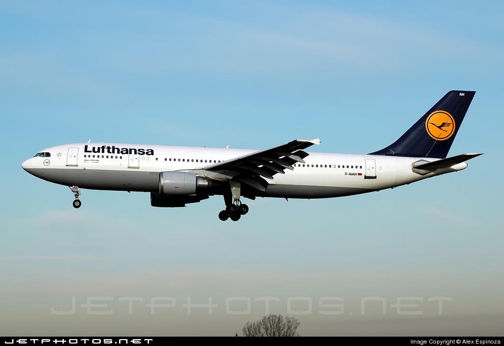 D-AIAH - Airbus A300B4-603 - Lufthansa