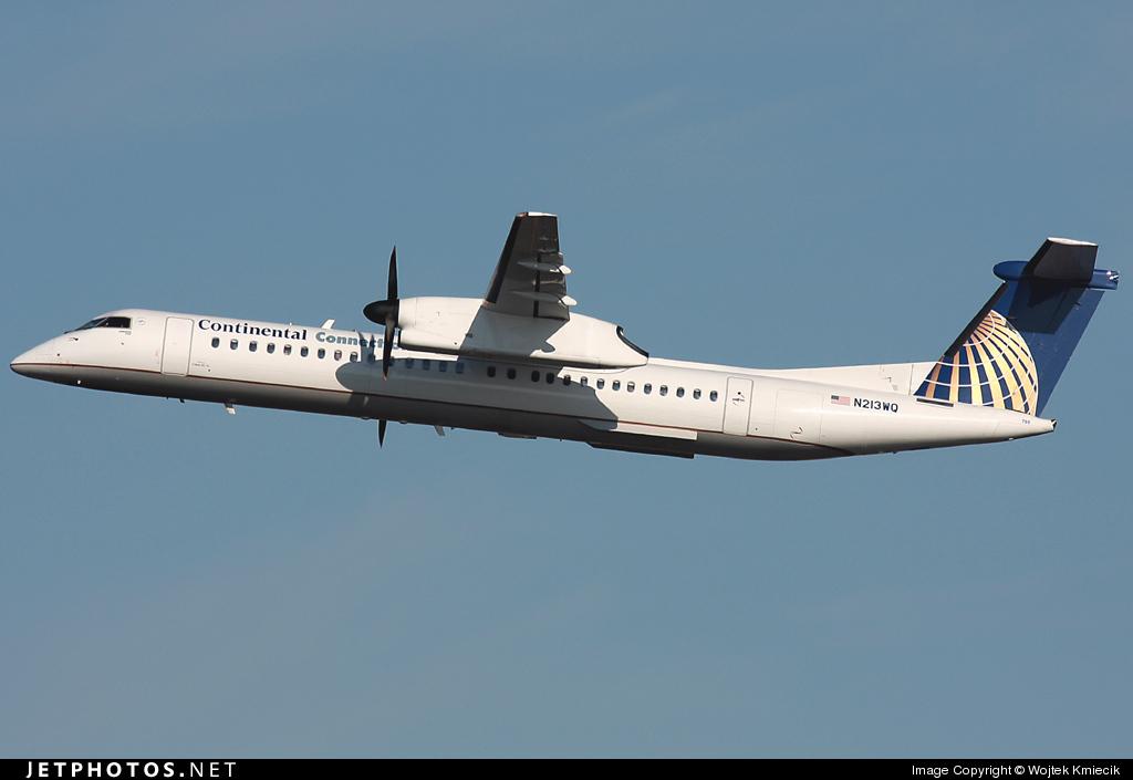 N213WQ - Bombardier Dash 8-Q402 - Continental Connection (Colgan Air)