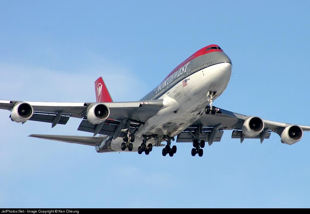 N674US - Boeing 747-451 - Northwest Airlines